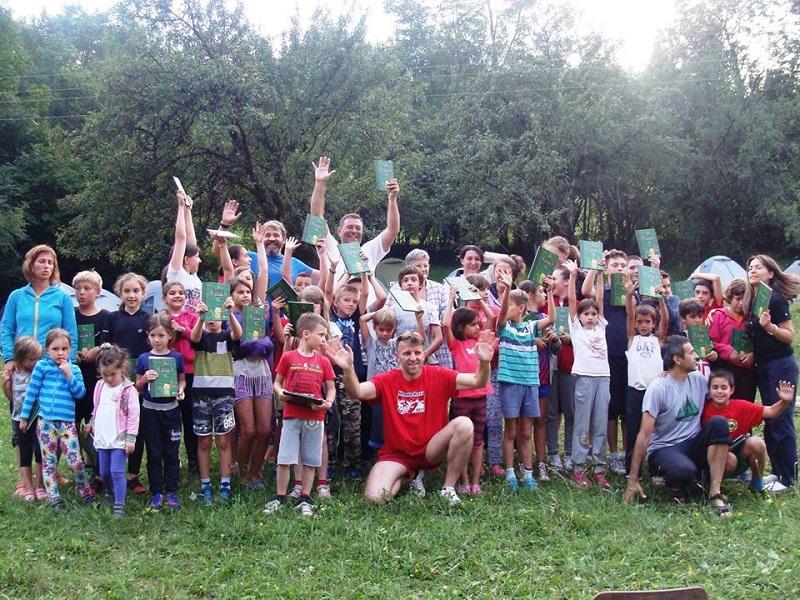 4. 2nd Regional Children Mountaineers Camp