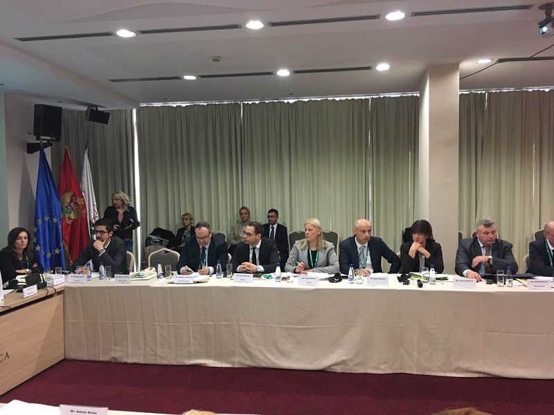 2. Ad-hoc Meeting of the Ministers in Podgorica 2017