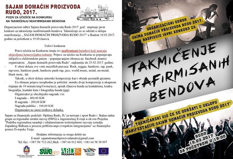 4. FINALNI poziv za demo bendove