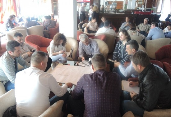 3. Capacity building workshop in Mavrovo